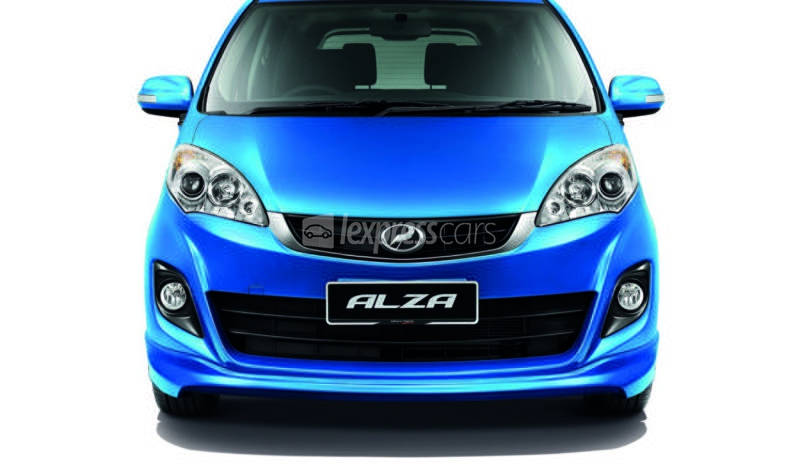 New Perodua Alza S full