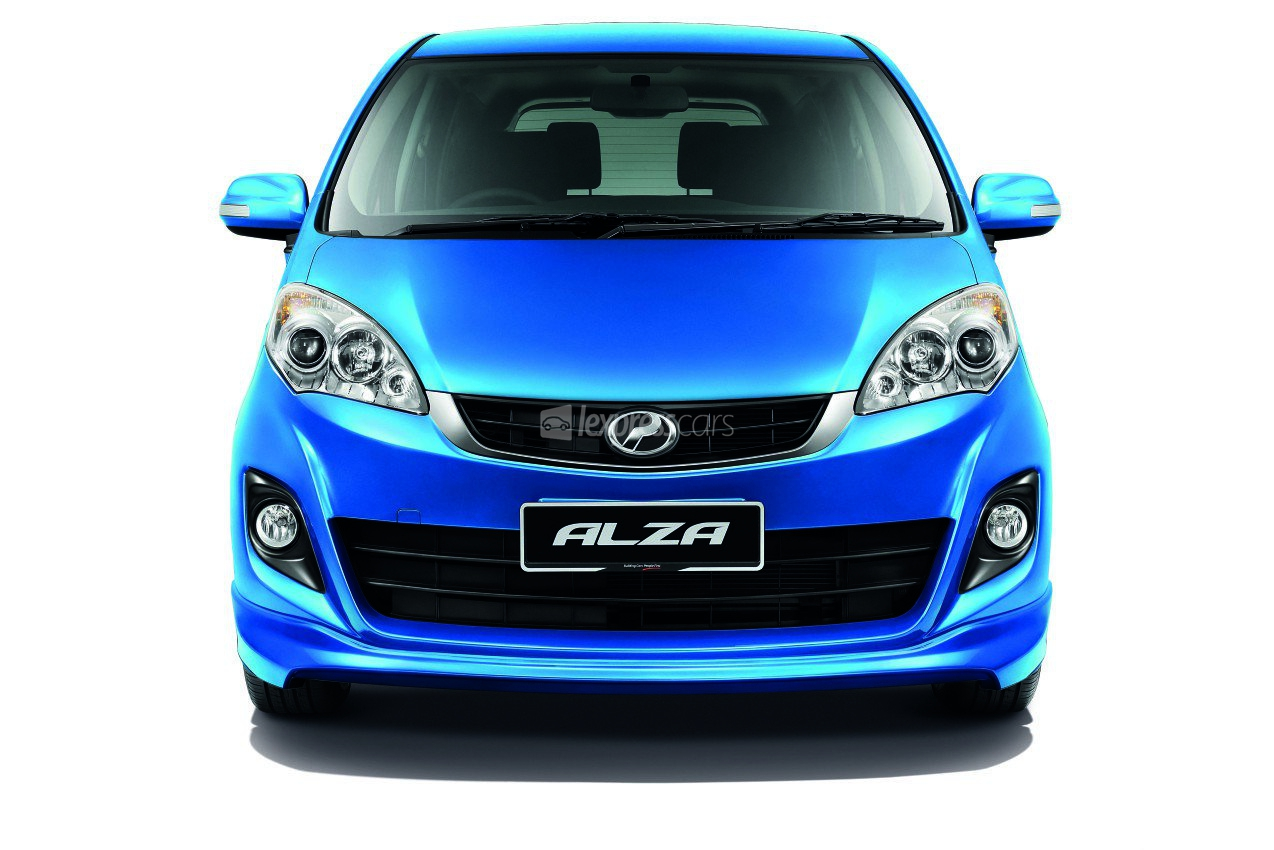 New Perodua Alza S - lexpresscars.mu