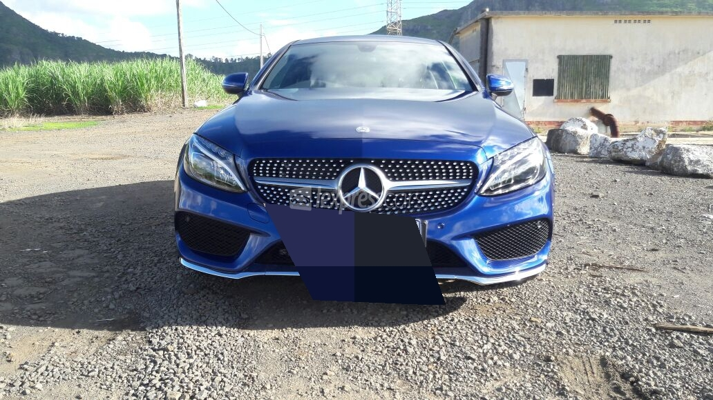 Second hand mercedes benz c coup 2017 for 2nd hand mercedes benz