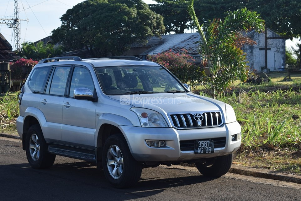 toyota land cruiser prado manual