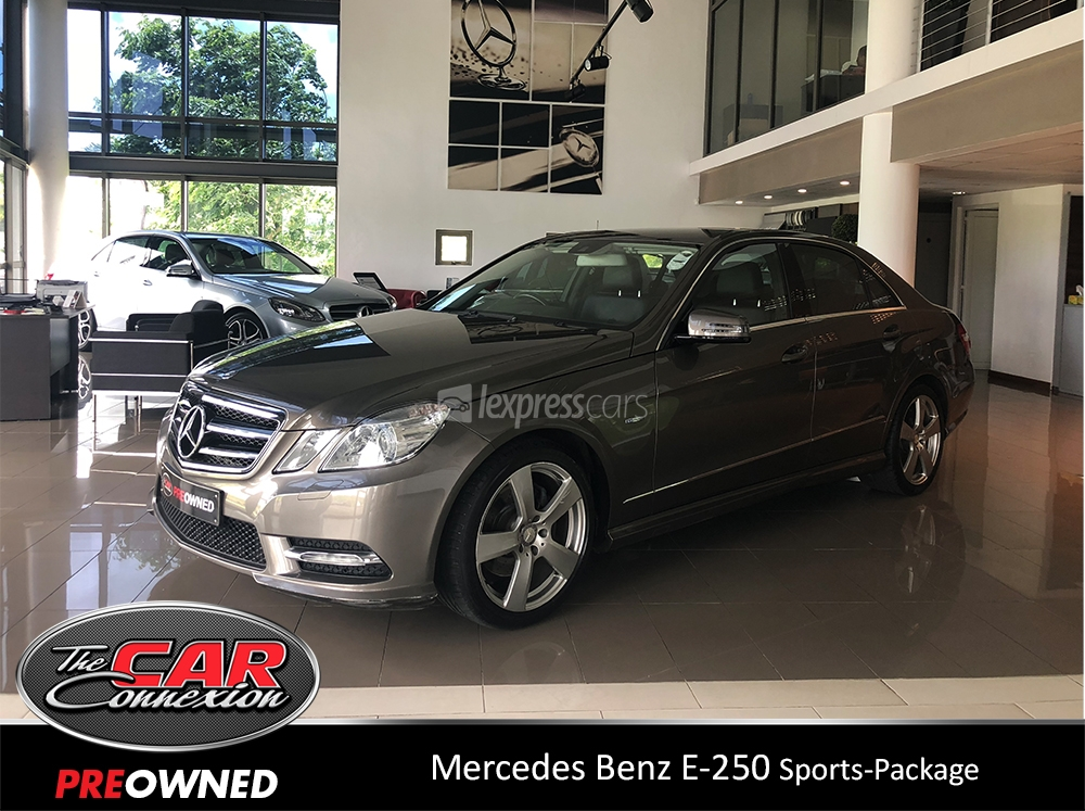 Dealership second hand mercedes benz e250 2012 for 2nd hand mercedes benz