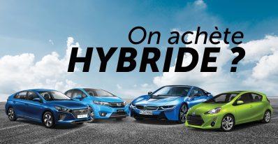 Voiture hybride lexpresscars