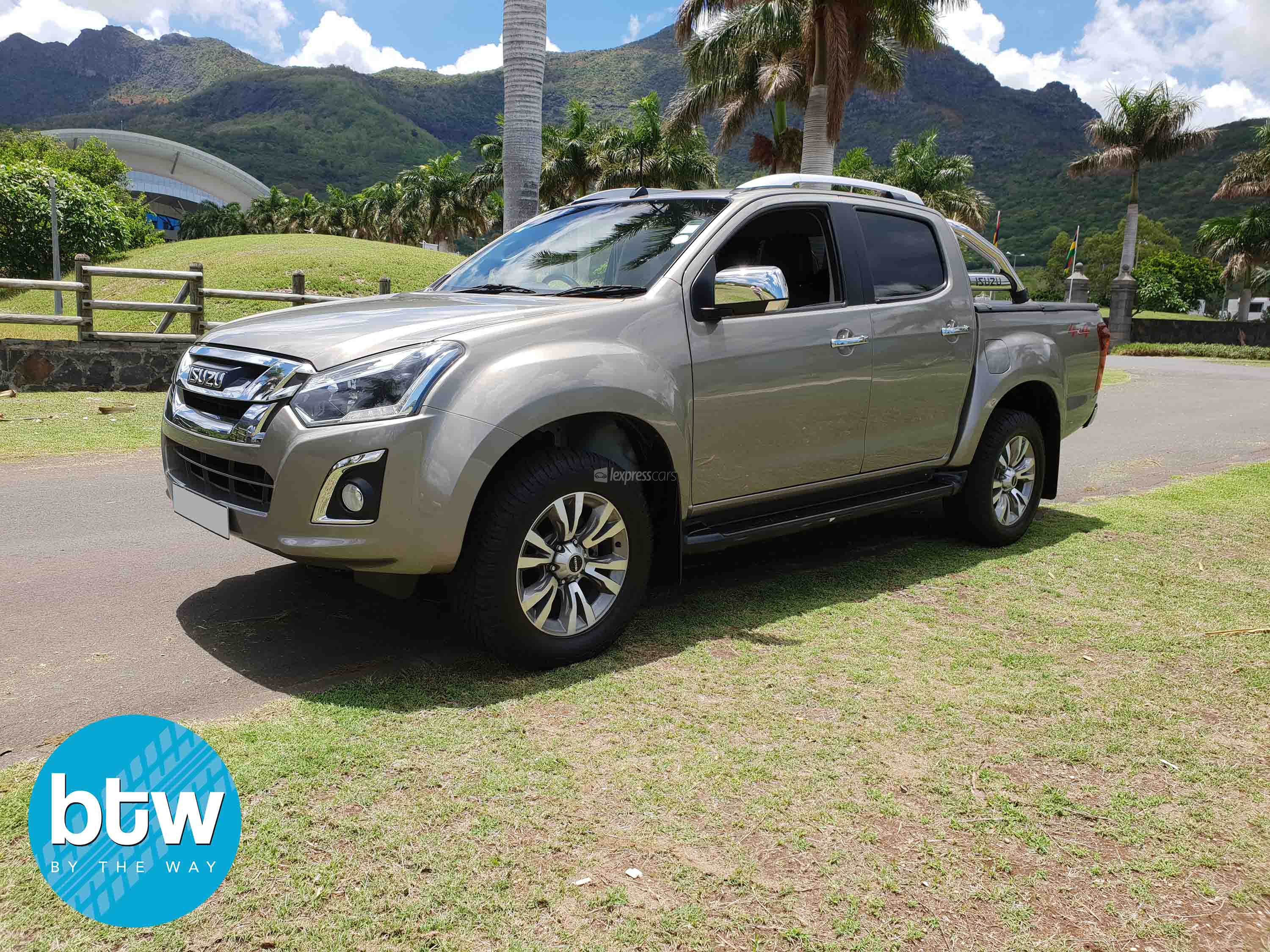 dealership second hand isuzu dmax 2018 - lexpresscars.mu