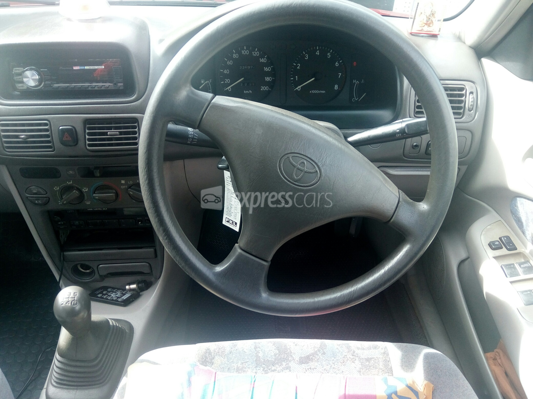 Second-Hand Toyota Corolla 1998 - lexpresscars mu