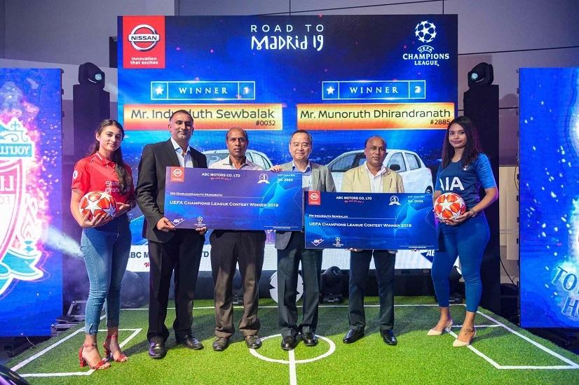 Winners - Nissan UEFA Champions League LexpressCars