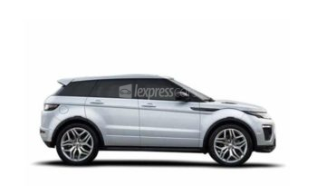 New Land Rover Range Rover Evoque full