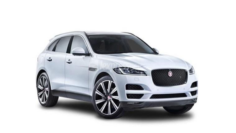 New Jaguar F-Pace full
