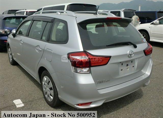 Dealership Second Hand Toyota Fielder 2017 full