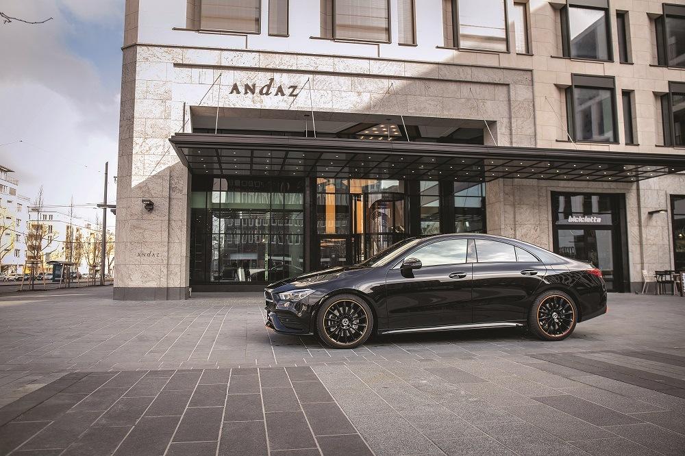 Mercedes CLA Coupé CFAO Motors Lexpress Cars 3