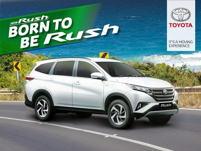 Toyota Rush Banner
