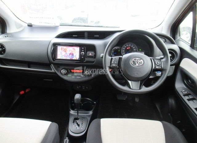 Dealership Second Hand Toyota Vitz 2017 full