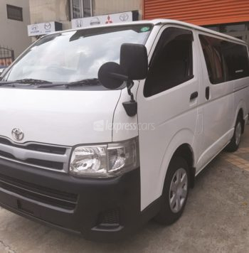 Dealership Second Hand Toyota HiAce 2013