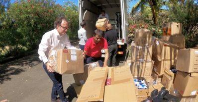 TTC - CFAO don équipements ONG Eco-Sud LexpressCars 1