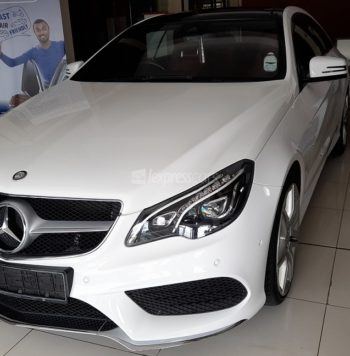 Dealership Second Hand Mercedes-Benz E-Class Coupe 2015