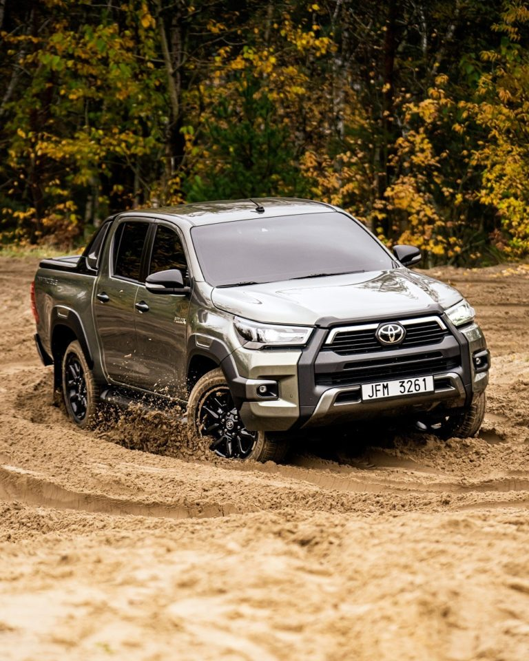 Ride in style with the new generation of Toyota Hilux 2021